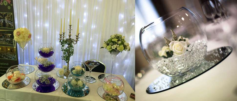 Wedding Centrepieces and Table Décor